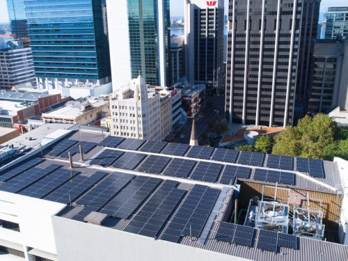 AER Solar Project - Wesley Tower